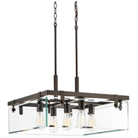 Bowery + Grove 53263-ABCI Guthrie 5 Light 23 inch Antique Bronze Pendant Ceiling Light Design Series