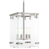 Bowery + Grove 53317-BNCI Guthrie 4 Light 15 inch Brushed Nickel Foyer Pendant Ceiling Light Design Series