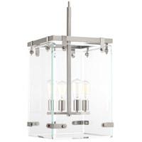 Bowery + Grove 53317-BNCI Guthrie 4 Light 15 inch Brushed Nickel Foyer Pendant Ceiling Light Design Series