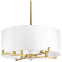 Bowery + Grove 53363-VGI Santa Barbara 4 Light 22 inch Vintage Gold Pendant Ceiling Light Design Series