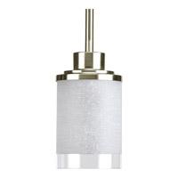 Bowery + Grove 51742-BNWL Brackettville 1 Light 4 inch Brushed Nickel Mini-Pendant Ceiling Light