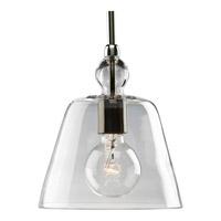 Bowery + Grove 51739-PNC Baytown 1 Light 8 inch Polished Nickel Mini-Pendant Ceiling Light