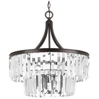 Bowery + Grove 53235-ABC Palermo 5 Light 22 inch Antique Bronze Pendant Ceiling Light Design Series