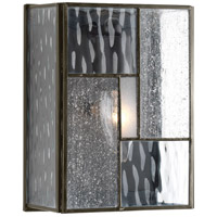 Bowery + Grove 52062-ABCS Modica 1 Light 8 inch Architectural Bronze Outdoor Wall Lantern Small