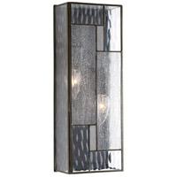 Bowery + Grove 52051-ABCS Modica 2 Light 16 inch Architectural Bronze Outdoor Wall Lantern Medium