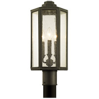 Bowery + Grove 53076-VBCS Bulverde 3 Light 20 inch Vintage Bronze Post Lantern