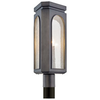 Bowery + Grove 55250-GSI Geyser Ave 3 Light 21 inch Graphite Post Light