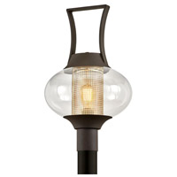 Bowery + Grove 55274-TBCI Alma Real Dr 1 Light 21 inch Texture Bronze Post Light