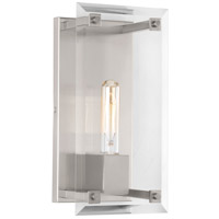 Bowery + Grove 53309-BNCB Carter 1 Light 6 inch Brushed Nickel Wall Sconce Wall Light Design Series