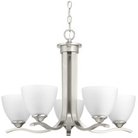 Bowery + Grove 52261-BNEI Antelo View Dr 5 Light 24 inch Brushed Nickel Chandelier Ceiling Light