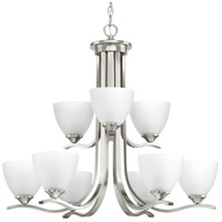 Bowery + Grove 52263-BNEI Antelo View Dr 9 Light 28 inch Brushed Nickel Chandelier Ceiling Light