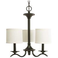 Bowery + Grove 51475-ABFS Briscoe 3 Light 17 inch Antique Bronze Chandelier Ceiling Light