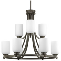 Bowery + Grove 51519-ABEO Graford 9 Light 27 inch Antique Bronze Chandelier Ceiling Light