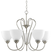 Bowery + Grove 51522-BNE Armstrong 5 Light 25 inch Brushed Nickel Chandelier Ceiling Light
