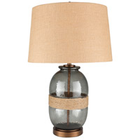 Bowery + Grove 53595-W Banquete 27 inch 100 watt Wheat Table Lamp Portable Light