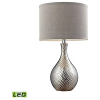 Bowery + Grove 50970-CPL Aberdeen Ave 22 inch 9.5 watt Chrome Plated Table Lamp Portable Light in LED