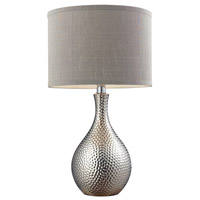 Bowery + Grove 50930-CP Aberdeen Ave 22 inch 60 watt Chrome Plated Table Lamp Portable Light in Incandescent