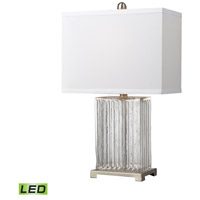 Bowery + Grove 50971-CCL Almeda 24 inch 9.5 watt Clear Color Table Lamp Portable Light in LED