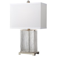 Bowery + Grove 50931-CCC Almeda 24 inch 100 watt Clear Color Table Lamp Portable Light in Incandescent