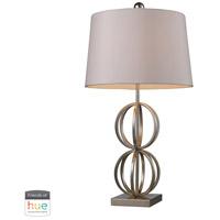 Bowery + Grove 53442-SLL Amigo Ave 29 inch 60 watt Silver Leaf Table Lamp Portable Light