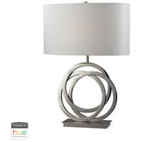 Bowery + Grove 53447-PNL Asti 25 inch 60 watt Polished Nickel Table Lamp Portable Light