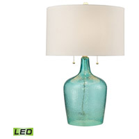 Bowery + Grove 54489-SL Bankersmith 26 inch 9.5 watt Seabreeze Table Lamp Portable Light in LED 3-Way
