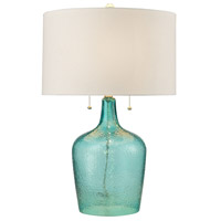 Bowery + Grove 54462-S Bankersmith 26 inch 60 watt Seabreeze Table Lamp Portable Light in Incandescent 3-Way