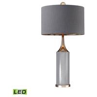 Bowery + Grove Gold 54694-GL Sesto San Giovanni 32 inch 9.5 watt Gold/Grey Table Lamp Portable Light in LED
