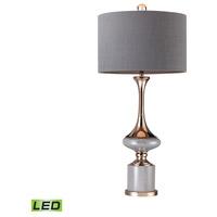 Bowery + Grove Gold 54690-GL Alexandria Pl 35 inch 9.5 watt Gold/Grey Table Lamp Portable Light in LED