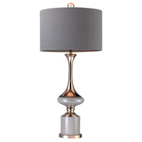 Bowery + Grove 54681-G Alexandria Pl 35 inch 100 watt Gold/Grey Table Lamp Portable Light in Incandescent