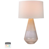 Bowery + Grove 54387-CL Brice 29 inch 60 watt Clear Table Lamp Portable Light in Hue LED Bridge Philips Friends of Hue
