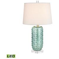 Bowery + Grove 54450-GL Eldorado 25 inch 9.5 watt Green Table Lamp Portable Light in LED 3-Way