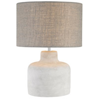 Bowery + Grove 50073-PC Allandale Dr 17 inch 60 watt Polished Concrete Table Lamp Portable Light
