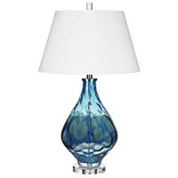 Bowery + Grove 54451-B Birch 29 inch 150 watt Blue Table Lamp Portable Light