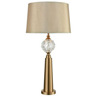 Bowery + Grove 54706-CBC Orlando 36 inch 100 watt Cafe Bronze/Clear Table Lamp Portable Light