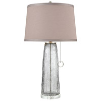 Bowery + Grove 54483-GO Ararat St 31 inch 100 watt Grey Ombre Crackle Table Lamp Portable Light