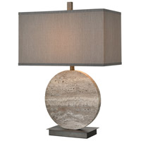 Grey Marble Stone Table Lamps