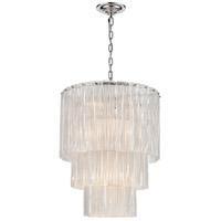 Bowery + Grove 54629-CC Antwerp St 14 Light 21 inch Clear/Chrome Chandelier Ceiling Light Medium