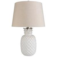 Bowery + Grove 53917-B Edom 24 inch 100 watt Beige Table Lamp Portable Light