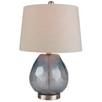 Bowery + Grove 54100-I Carmel 22 inch 100 watt Ivory Table Lamp Portable Light