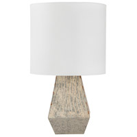 Medium Gray Linen Table Lamps