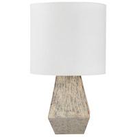Bowery + Grove 54225-MG Ascension Rd 18 inch 60 watt Medium Gray Table Lamp Portable Light