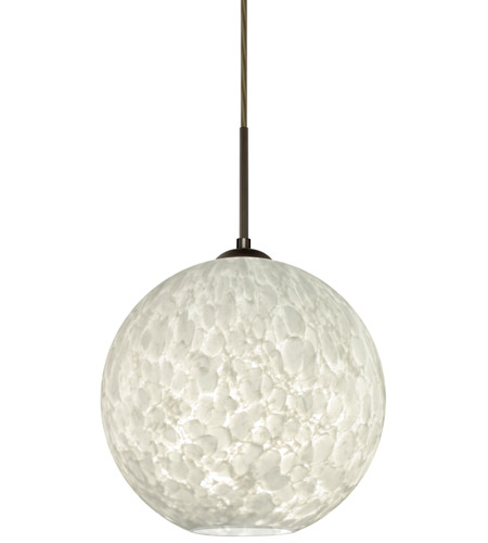 Besa Lighting 1jt Coco1219 Led Br Coco 12 Bronze Cord Pendant Ceiling Light