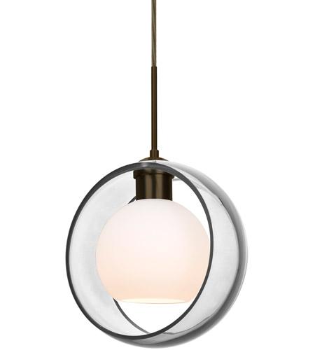 Besa Lighting 1jt Manacl Br Mana 1 Light Bronze Cord Pendant Ceiling