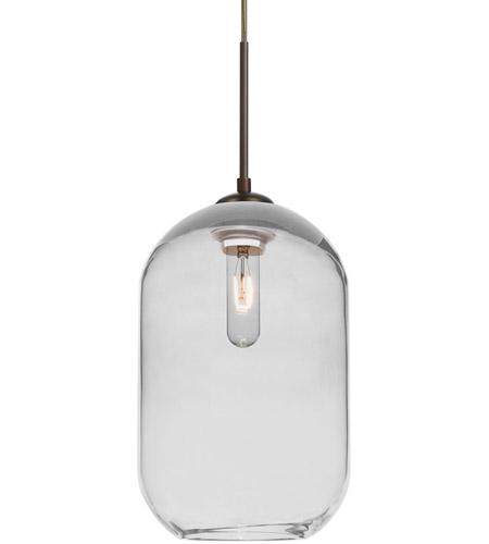 Besa Lighting 1jt Omega12cl Br Omega 12 1 Light Bronze Cord Pendant Ceiling