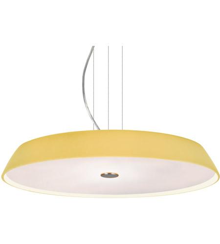 Besa Lighting 1kv Sophi18vm Led Sn Sophi 18 Satin Nickel Round Suspension Ceiling Light