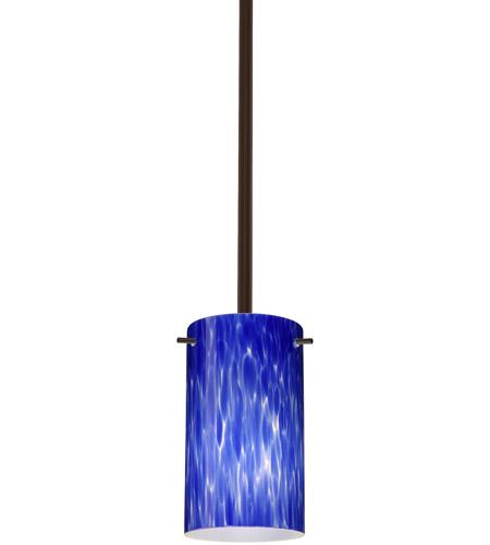 Besa Lighting 1tt 440486 Br Stilo 7 1 Light Bronze Stem Pendant Ceiling