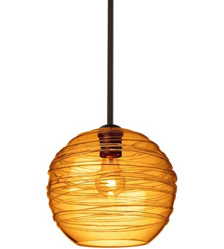 Besa Lighting 1tt 462782 Br Wave 10 1 Light Bronze Stem Pendant Ceiling