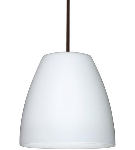 Besa Lighting 1tt Bell1607 Led Br Bella 16 Bronze Stem Pendant Ceiling Light