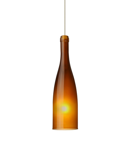 Besa Lighting Aluminum Botella Pendants